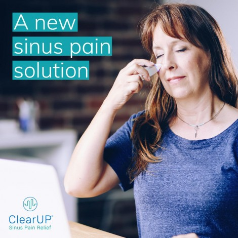 ClearUP - Bioelectronic Allergy Sinus Pain Solution