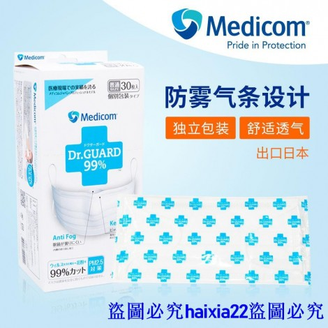 Dr. Guard - Medicom anti fog disposable mask
