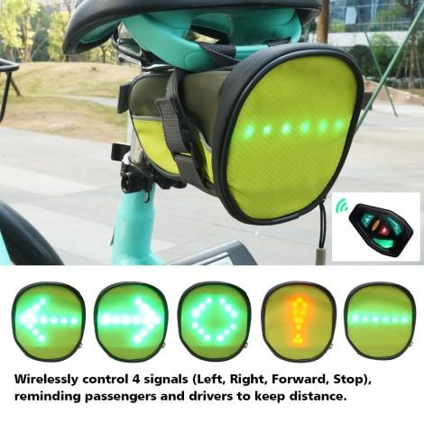 FANCYWING LED Cycling Saddle Bag