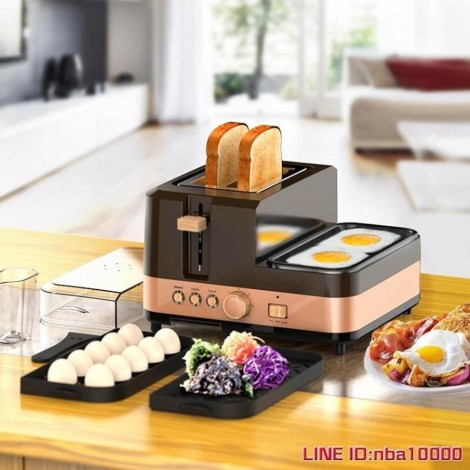Finetek multi-function toaster