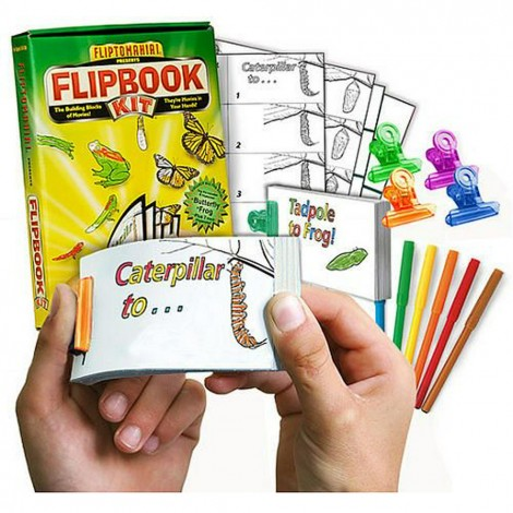 25 Sets DIY Flip Books Fliptomania Soccer Flipbook Animation Activity Pack