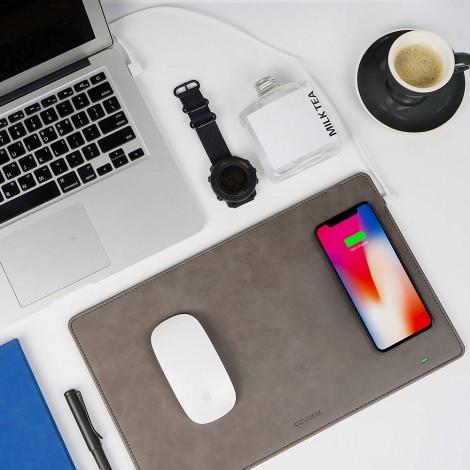 GAZEPAD Qi Wireless Fast Charging Mouse Pad