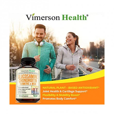 Glucosamine with Chondroitin Turmeric MSM Boswellia