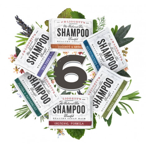 J·R·LIGGETTS All-Natural Shampoo Bar