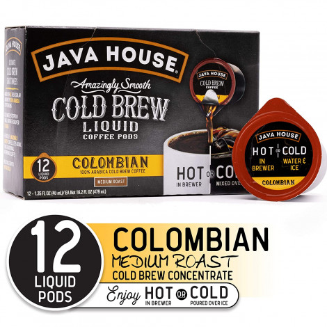 Java House Cold Brew Coffee Concentrate