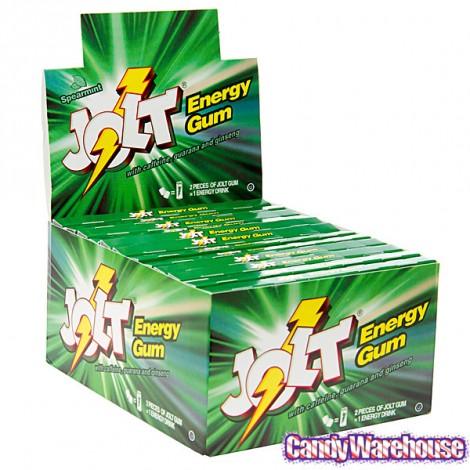 Jolt Energy Gum