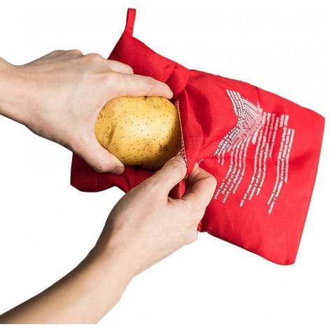 KISEER Reusable Microwave Potato Bag