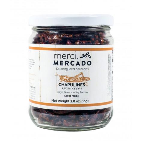 Merci Mercado Chapulines grasshoppers