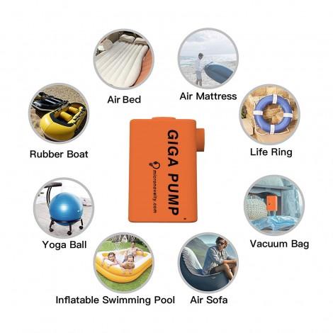 MicroNovelty GIGA Pump - Portable Air Pump