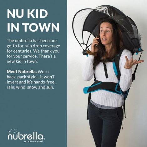 Nubrella - Hands Free Umbrella