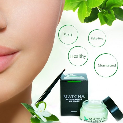 Once Upon A Tea - Moisturizing Matcha Sleeping Lip Mask Balm