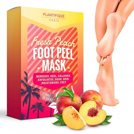Plantifique - Fresh Peach Foot Peel Mask