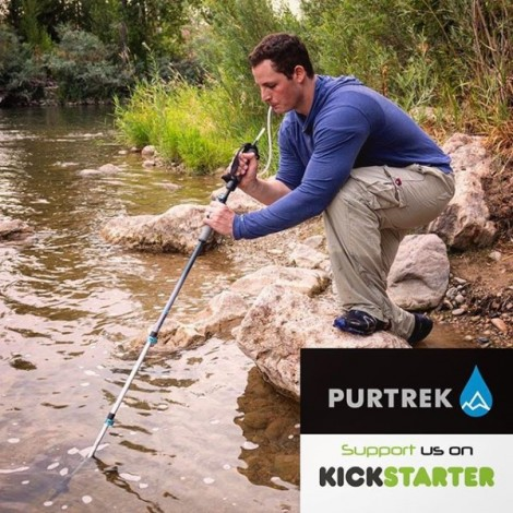 PURTREK - Water Purifier and Trekking Pole