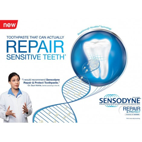 Sensodyne® Repair and Protect