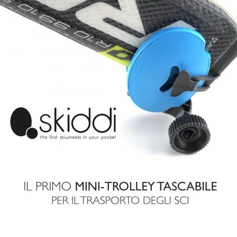 SKIDDI - Mini Pocket Trolley for Ski