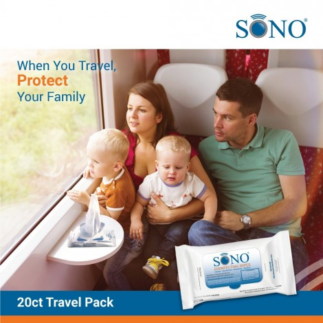 SONO MEDICAL DISINFECTANT WIPES