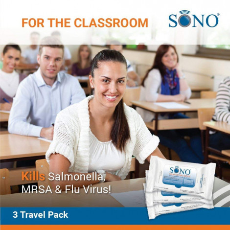SONO Medical Grade Disinfecting Wipes