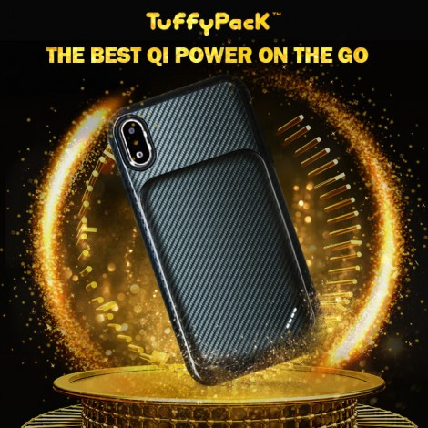 TuffyPack - Qi Power On The Go