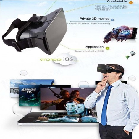 Universal Virtual Reality 3D & Video Glasses
