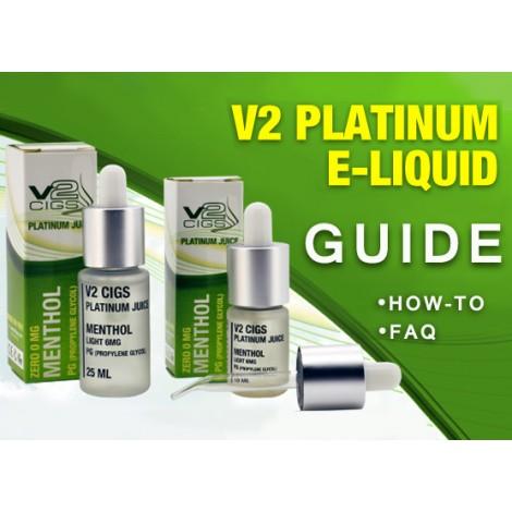 V2 Platinum E-Liquid