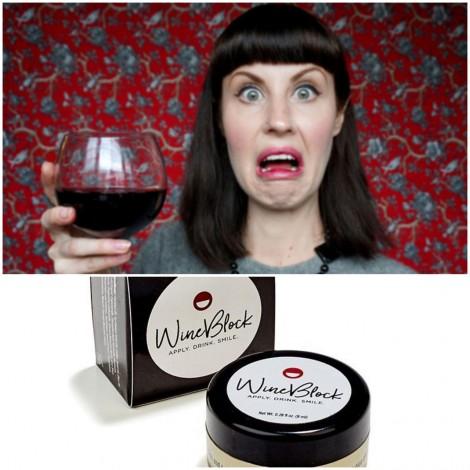 WineBlock Red Wine Stain Preventing Lip & Teeth Balm