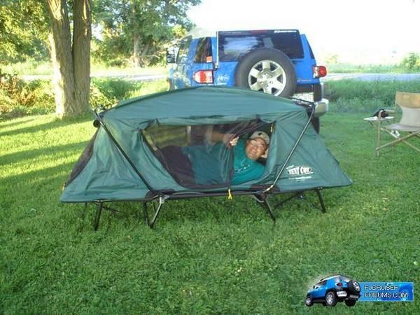& Kamp-Rite Compact Tent Cot