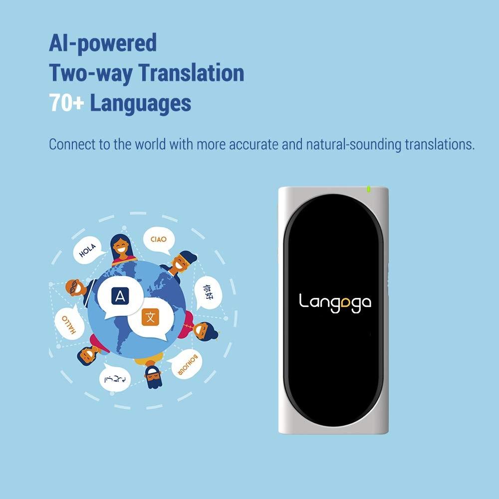 Langogo - Pocket Translator and Global Wi-Fi