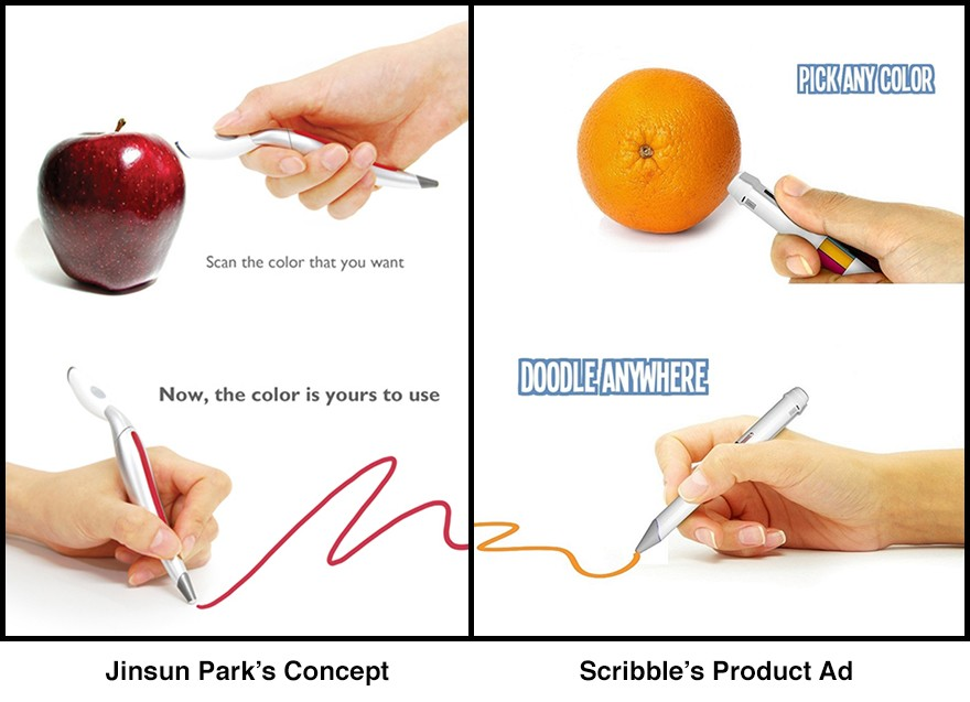 Scribble Pen Scan Amp Draw In Any Color