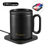 AAOBOSI Mug Warmer with Wireless Charger