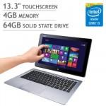 ASUS Transformer Book Touchscreen Laptop