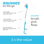 Brushee - On The Go Toothbrush