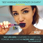 CALI WHITE Charcoal & Coconut Oil Whitening Toothpaste