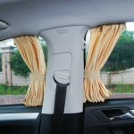 Car magnetic sunshade curtain