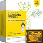 Doppeltree All Natural Rejuvenating Gold Eye Masks