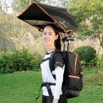 FUNSHEL Backpack umbrella