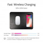 GAZEPAD Qi Wireless Fast Charging Mouse Pad