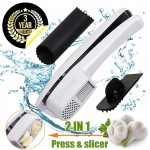 GiniHome Garlic Press & Slicer