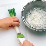 Green onion chopped knife