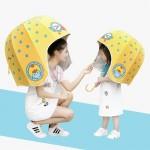 Helmet umbrella