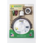Huron N222 Solar Light Bulb with Phone Charger