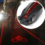 Intelligent Bike Logo Safety Rear Tail Light