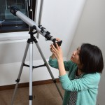 Live view astronomical telescope for iPhone