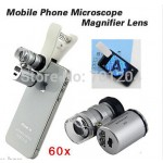 Mobile Phone Microscope Magnifier Micro Lens
