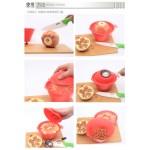 Pomegranate slicer peeler tools