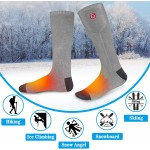 QILOVE Rechargeable Battery Heated Socks