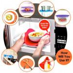 Safe Grabs Original Multi-Purpose Silicone Microwave Mat