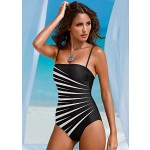 SHAPER BANDEAU ONE-PIECE SWIMSUIT
