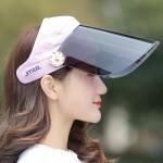 Summer UV protection ladies hat