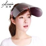 Summer UV protection ladies hat