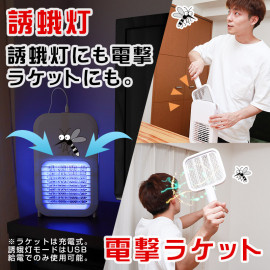 2 in 1 mosquito buster